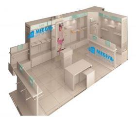 Мебель для магазина женской одежды